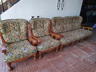 sofá + sillones antiguos