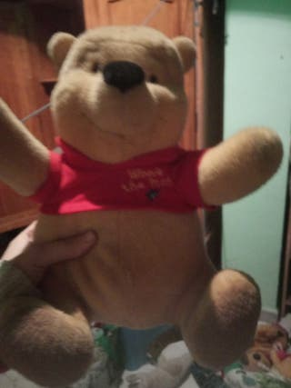 peluche Winnie de Pooh
