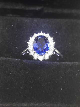 Princess Diana Created Blue Sapphire Ring