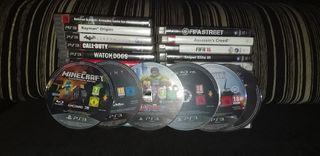 Lote Videojuegos Ps3
