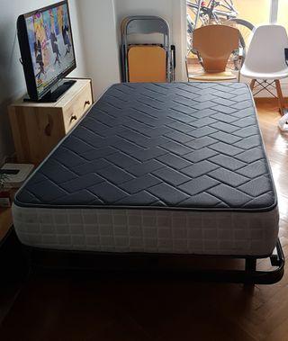 Somier y colchón 110x180cm
