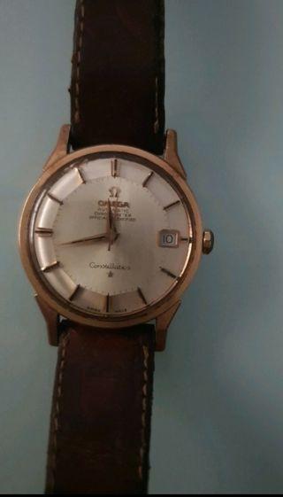 Reloj Omega de Oro, Autentico.