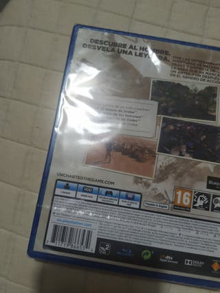 UNCHARTED THE NATHAN DRAKE COLLECTION (NUEVO)