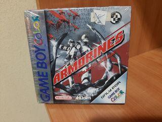 Armorines Project S.W.A.R.M. Game Boy Color, pal-e