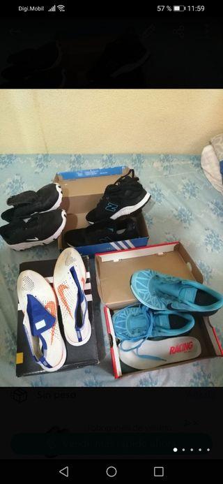 Los 3 Nike por 50€ remate