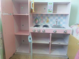 Cocinita de juguete de madera alta calidad