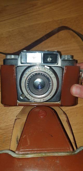 Camara fotos Agfa Color años 50