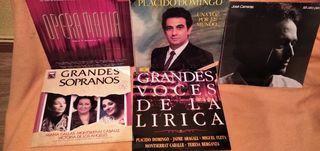 discos vinilo LPs lote Opera, lirica
