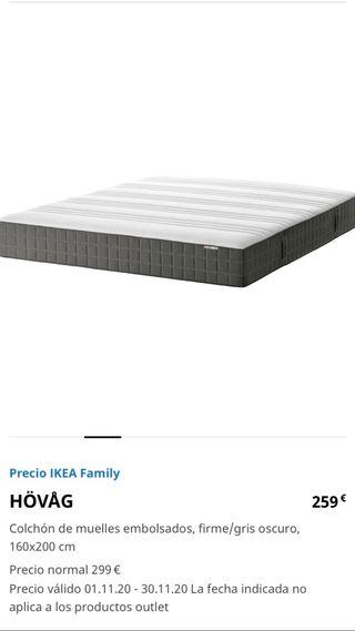 Colchón IKEA