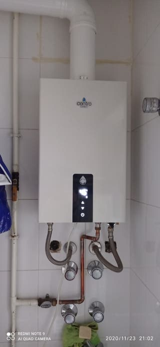 calentador gas natural 12l estanco, modulante