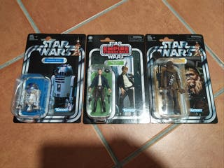 Lote tres figuras Vintage Collection Star Wars