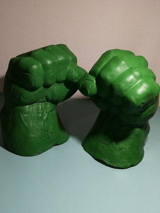 Puños Hulk disfraz