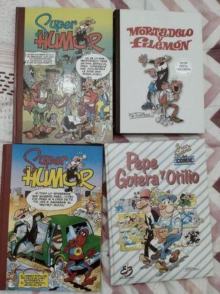 Colección de varios comics.