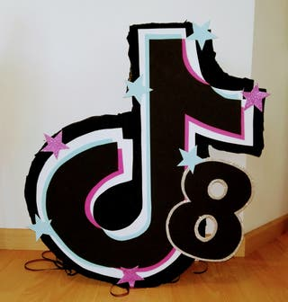 piñata tiktok Cumpleaños