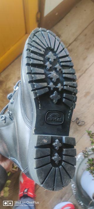botas de forestal auténticas nuevas