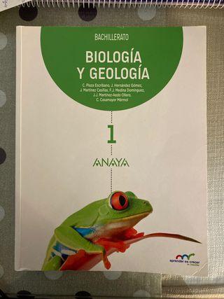 Libro Biología y Geología 1Bachillerato