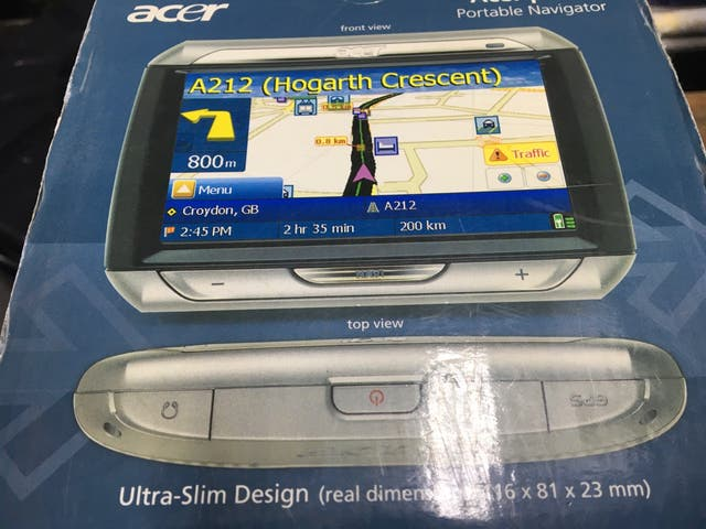 GPS Acer P680
