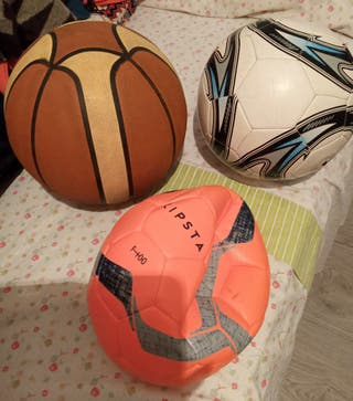 Lote tres balones