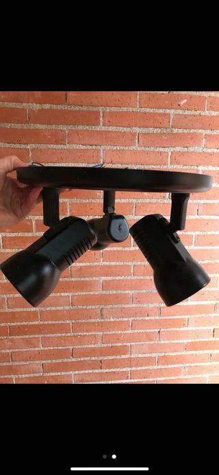 Lámpara de techo 3 bombillas