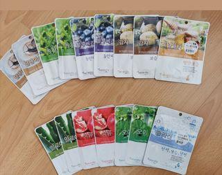 16 Natureby Korean Face Mask Sheets