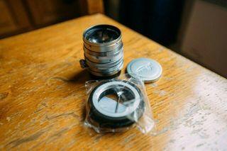 Leica Summarit 50mm f / 1.5 m39 / l39 with adapter
