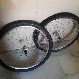 Ruedas bici 26