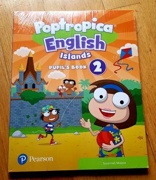 Libro nuevo de Inglés 2 Primaria.