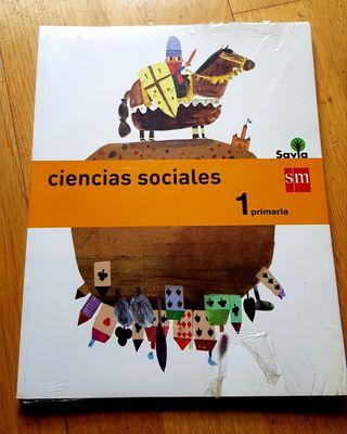 Libro nuevo de Ciencias Sociales 1 Primaria.