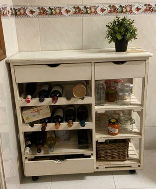 Mueble botellero , organizador