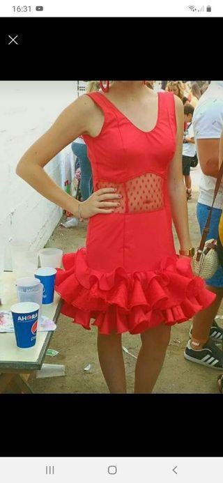 Vestido de gitana rojo