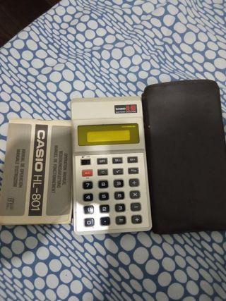calculadora Casio HL 801