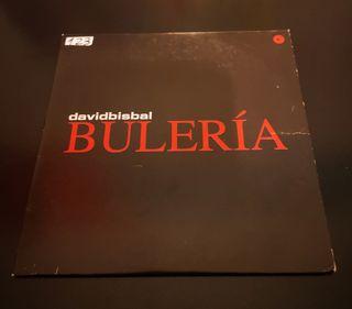 """DAVID BISBAL  """"Buleria"""" CD SINGLE PROMOCIONAL"""