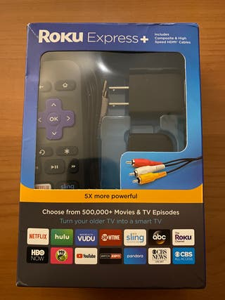 Roku express plus +