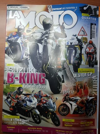 Revista Suzuki B-King, GSX-R1000