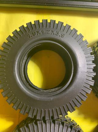 4 neumáticos 1/10, Crawler