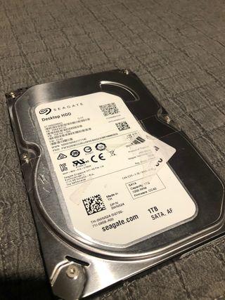 Disco duro Seagate 1 TB Averiado