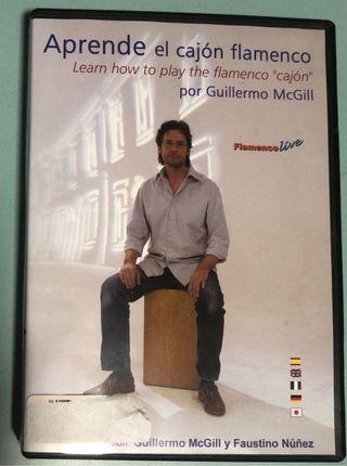 Cd Aprende a tocar el Cajon Flamenco