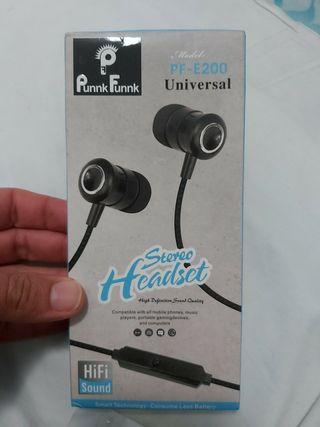 Stereo Headset Auricular de Alta definición HIFI