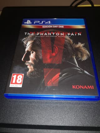 Metal Gear Solid The Phantom Pain PS4