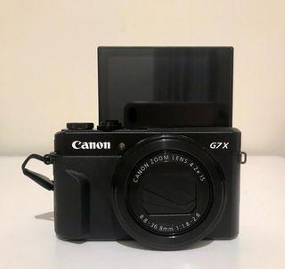 cámara Canon g7x mark 2
