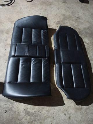 asientos traseros de cuero de BMW E36