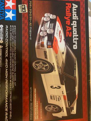 Carrocería Tamiya Audi Quattro 1/10