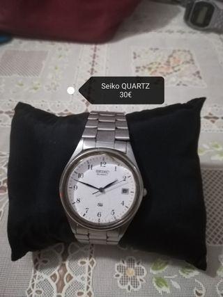 seiko reloj antiguo