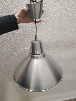 lámpara techo metal Ikea