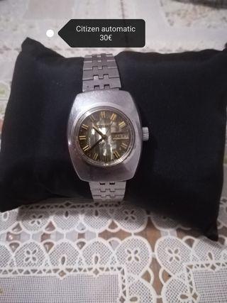 Citizen reloj antiguo