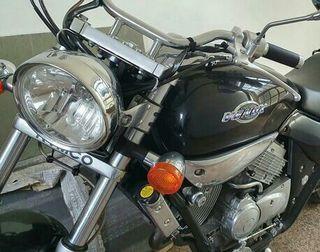 Kymco Venox 250 cc Custom revisada, ITV 2022