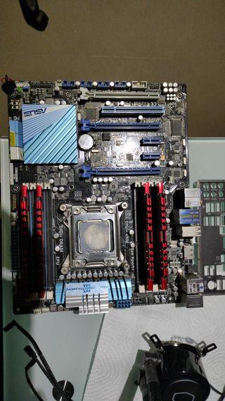 combo placa procesador y RAM