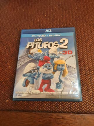 los pitufos 2 Blu-ray 3d + Blu-ray