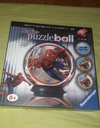 Puzzle Ball Spiderman