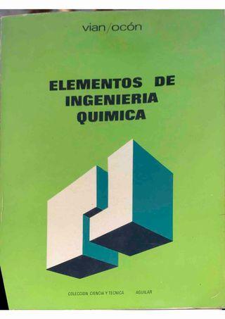 ELEMENTOS DE INGENIERÍA QUÍMICA.